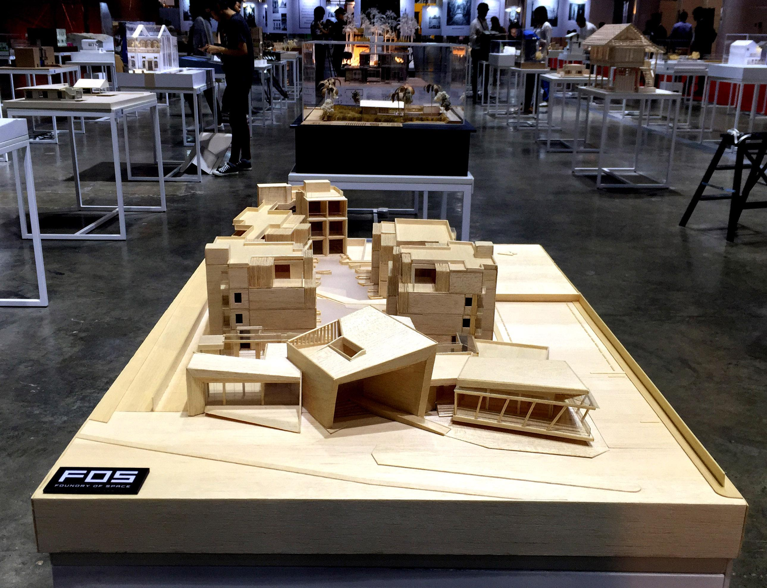 Canvas Resort project on show in Architect '17 Expo