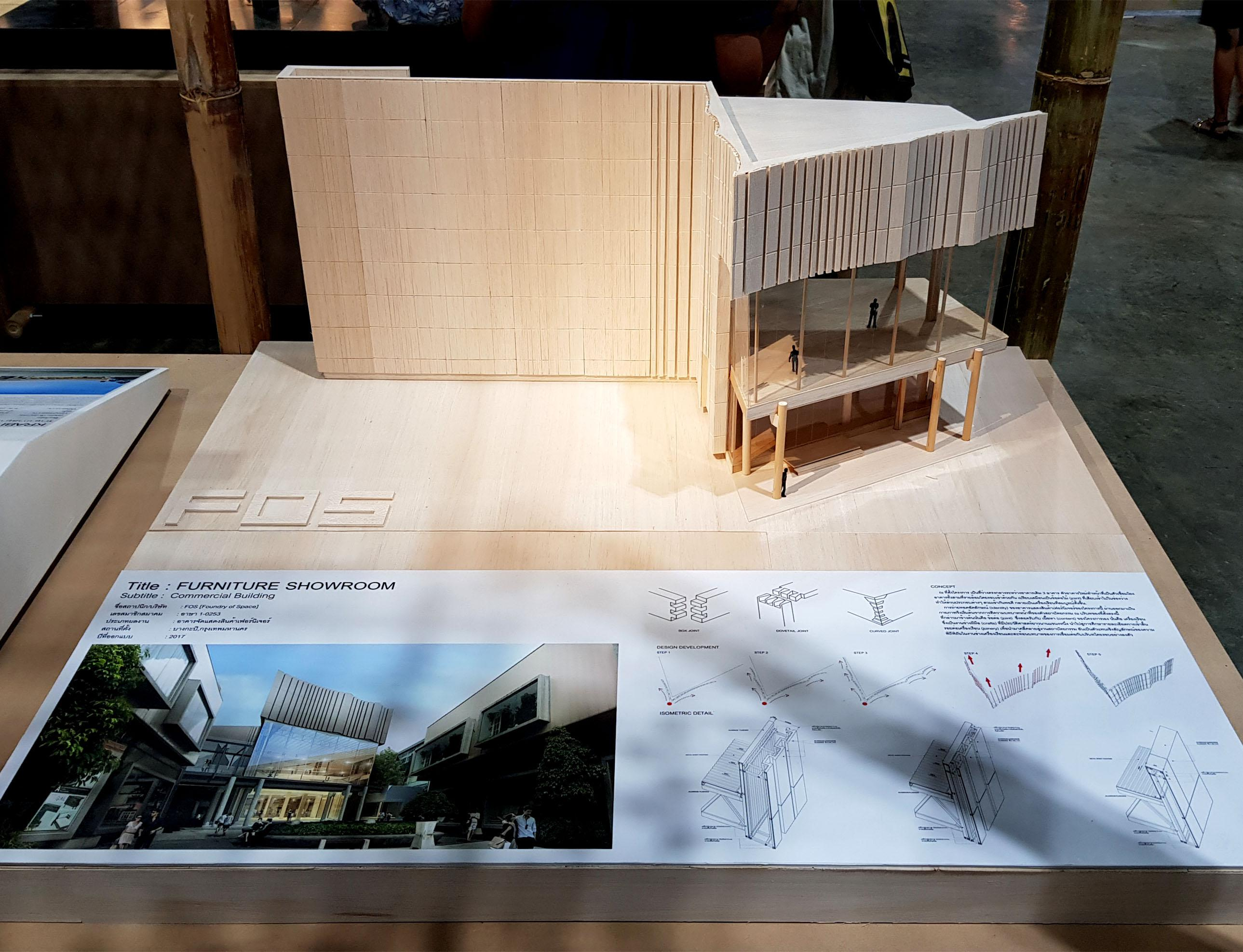 FOS's Project exhibited in Architect'18 Expo