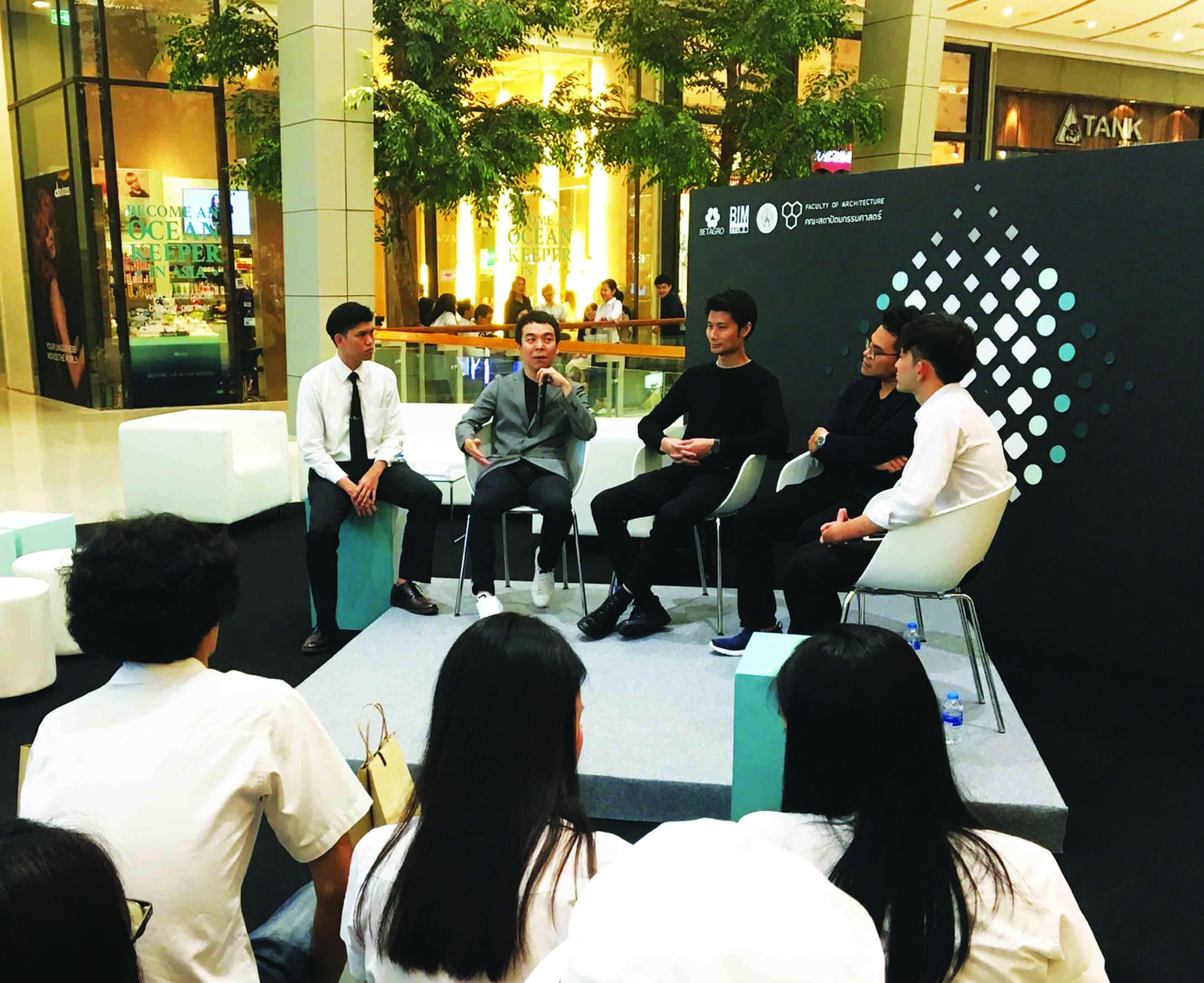Makakrai Jay Suthadarat joined talk with KMITL graduates