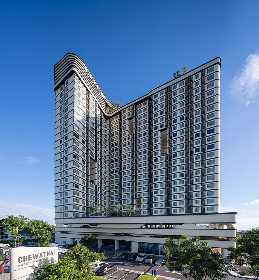 CHEWATHAI KASET-NAWAMIN HIGH-RISE CONDO COMPLETED