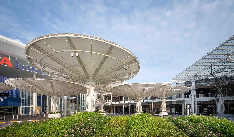 Megabangna New Lobby, Drop-off Canopy & Foodwalk Renovation
