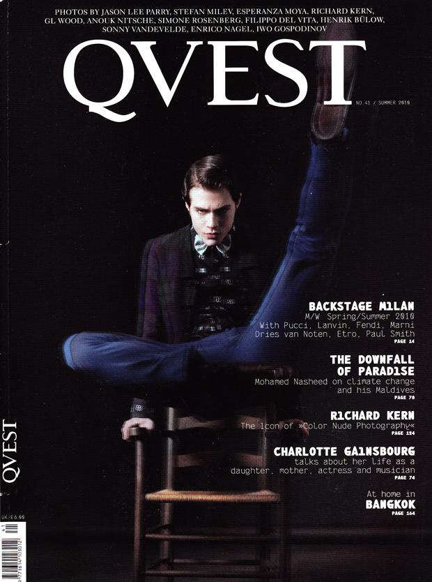 <span>QVEST</span> Magazine : Vol.41 Summer 2O1O